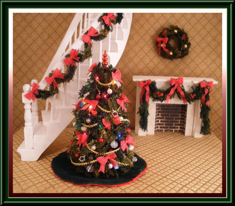 Doll House Christmas Decorations