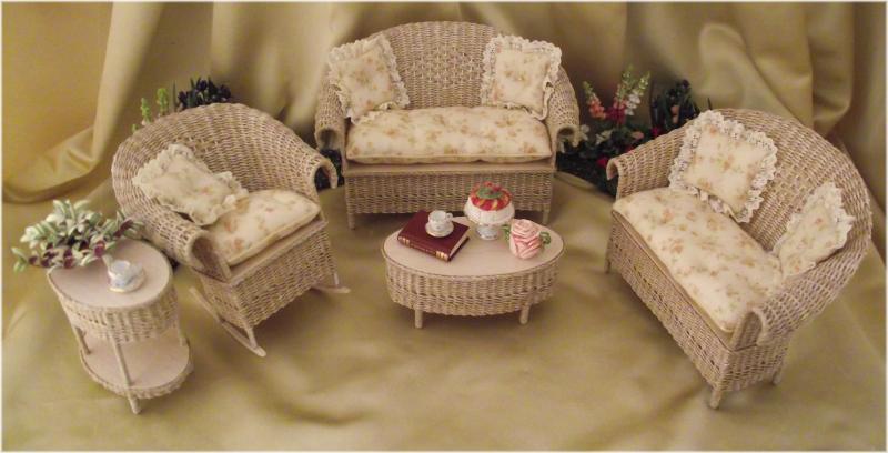 Dollhouse Patio Furniture