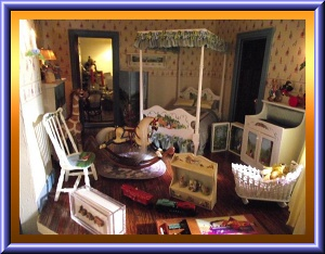 custom dollhouse dressed beds